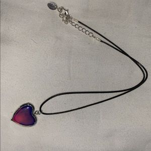 Claire's mood color changing necklace